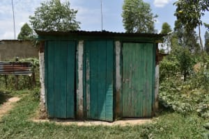 The Water Project: Ebukuya Special School for the Deaf -  Boys Latrine Block