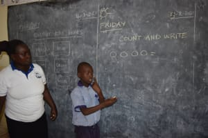 The Water Project: Ebukuya Special School for the Deaf -  Class In Session