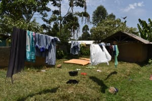 The Water Project: Ebukuya Special School for the Deaf -  Clothesline