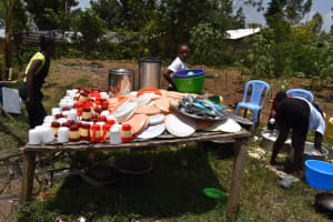The Water Project: Ebukuya Special School for the Deaf -  Dishrack
