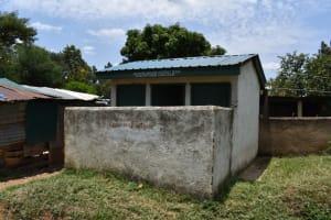 The Water Project: Ebukuya Special School for the Deaf -  Girls Latrine Block