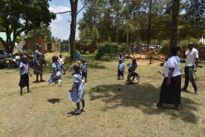 The Water Project: Ebukuya Special School for the Deaf -  Students Playing