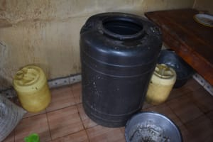 The Water Project: Ebukuya Special School for the Deaf -  Water Storage Containers