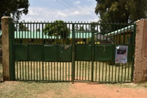 The Water Project: Ebukuya Special School for the Deaf -  Main Gate