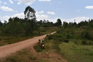 The Water Project: Ebukuya Special School for the Deaf -  Road To The School