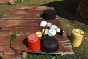 The Water Project: Namushiya Primary School -  Dishrack