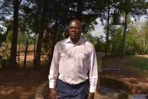 The Water Project: Namushiya Primary School -  Headteacher Essau Kimoi