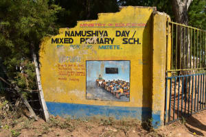 The Water Project: Namushiya Primary School -  School Gate