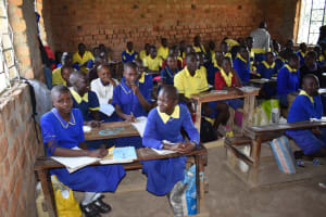 The Water Project: Namushiya Primary School -  Students In Class