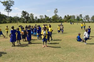 The Water Project: Namushiya Primary School -  Students On The Playground