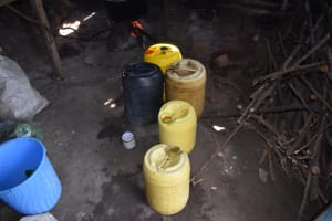 The Water Project: Namushiya Primary School -  Water Storage Containers