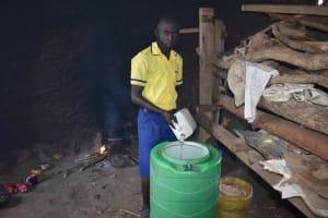 The Water Project: Namushiya Primary School -  Adding To Water Storage In School Kitchen