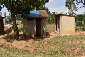 The Water Project: Namushiya Primary School -  Girls Latrine Block