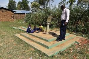 The Water Project: Namushiya Primary School -  Seasonal Shallow Well Currently Dry