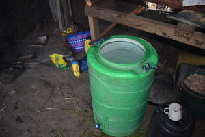 The Water Project: Namushiya Primary School -  Water Storage Container