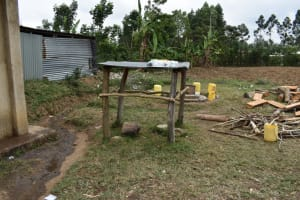 The Water Project: Salvation Army Matioli Secondary School -  Dishrack