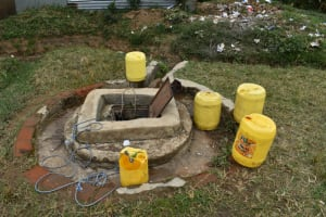The Water Project: Salvation Army Matioli Secondary School -  Shallow Well