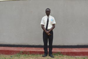 The Water Project: Salvation Army Matioli Secondary School -  Student Carlos