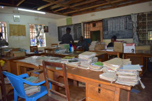 The Water Project: Friends Mudindi Village Primary School -  School Library And Staff Room