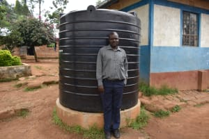 The Water Project: Friends Mudindi Village Primary School -  Teacher Thomas Asige