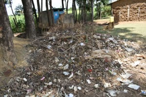The Water Project: St. Elizabeth Shipala Primary School -  Garbage Disposal