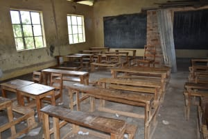 The Water Project: St. Elizabeth Shipala Primary School -  Inside A Class