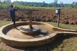 The Water Project: St. Elizabeth Shipala Primary School -  Jonathan Fetching Water