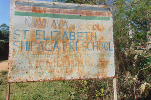The Water Project: St. Elizabeth Shipala Primary School -  School Sign