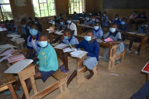 The Water Project: St. Elizabeth Shipala Primary School -  Students In Class