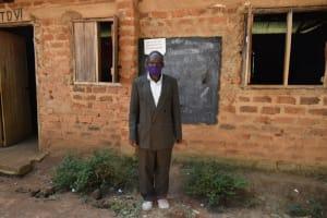 The Water Project: St. Elizabeth Shipala Primary School -  Teacher Mark Shitikha
