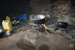 The Water Project: St. Elizabeth Shipala Primary School -  Food Cooking Inside The Kitchen
