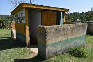The Water Project: St. Kizito Shihingo Primary School -  Boys Latrine Block