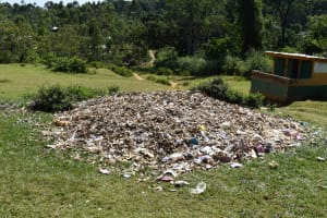 The Water Project: St. Kizito Shihingo Primary School -  Garbage Disposal Point