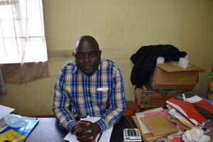The Water Project: St. Kizito Shihingo Primary School -  Headteacher Richard Shichenga
