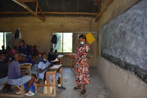 The Water Project: St. Kizito Shihingo Primary School -  Ongoing Class Session
