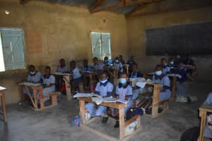 The Water Project: St. Kizito Shihingo Primary School -  Students In Class