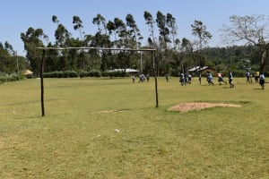 The Water Project: St. Kizito Shihingo Primary School -  Students Out In The Field Playing
