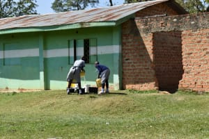 The Water Project: St. Kizito Shihingo Primary School -  Water Assembly Point At School