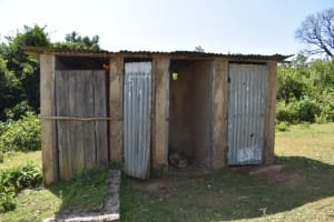 The Water Project: St. Kizito Shihingo Primary School -  Condemned Pit Latrines