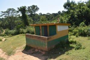 The Water Project: St. Kizito Shihingo Primary School -  Girls Latrine Block