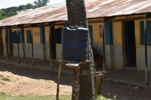The Water Project: St. Kizito Shihingo Primary School -  Handwashing Facility