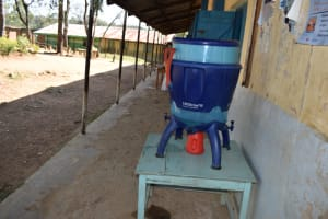 The Water Project: St. Kizito Shihingo Primary School -  Lifestraw Water Filter