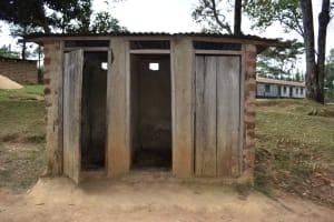 The Water Project: Kapkeruge Primary School -  Boys Latrine Block