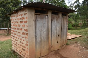 The Water Project: Kapkeruge Primary School -  Girls Latrine Block