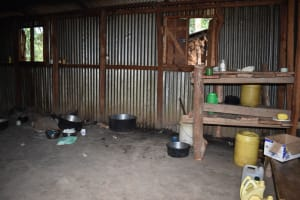 The Water Project: Kapkeruge Primary School -  Inside The Kitchen