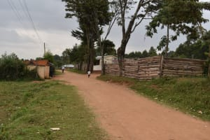 The Water Project: Kapkeruge Primary School -  Road To The School