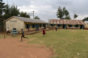 The Water Project: Kapkeruge Primary School -  Running To Fetch Water