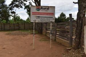 The Water Project: Kapkeruge Primary School -  School Sign