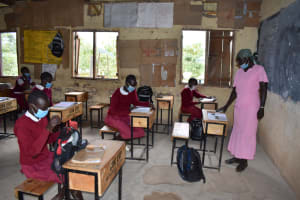 The Water Project: Kapkeruge Primary School -  Students In Class