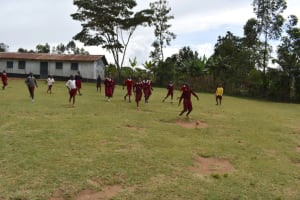 The Water Project: Kapkeruge Primary School -  Students Playing